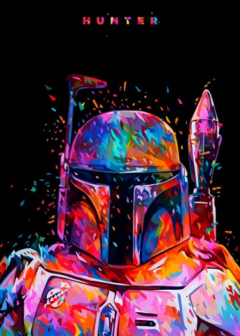 Image of Star Wars Print Canvas Poster
