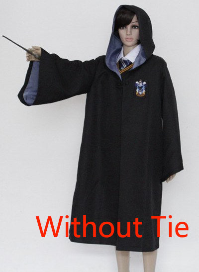 Harry Potter Robe Cape Gryffindor/SlytherinRavenclaw/Hufflepuff Cosplay