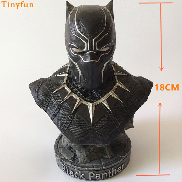 36CM Black Panther Resin Action Figure 1/2 toys