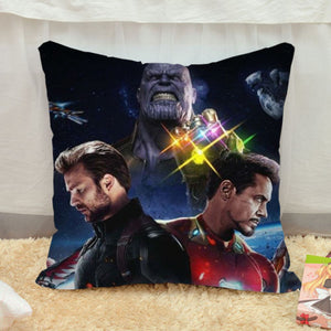 40*40 Marvel Avengers Infinity War Thanos Cosplay Pillow