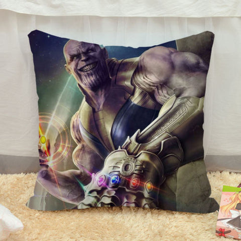 Image of 40*40 Marvel Avengers Infinity War Thanos Cosplay Pillow