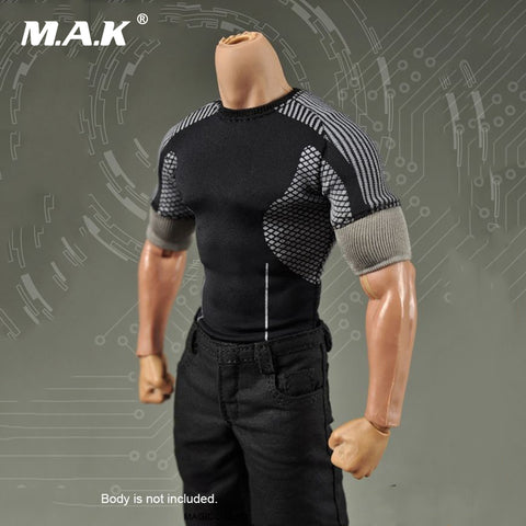 Image of 1/6 Scale Male Clothes Iron Man Armor Testing Repairman Suit Set TONY STARK cosplay