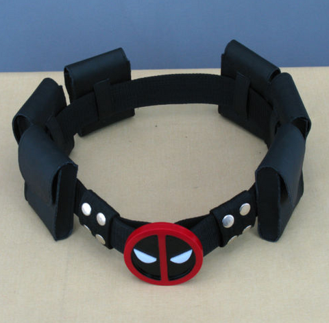 Image of Deadpool costume mask for kids accessories cosplay