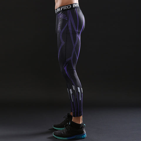 Image of Avengers Black Panther Leggings