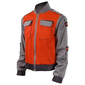 Image of Back To The Future Cosplay Costume Jr Marlene Seamus Marty McFly Jacket