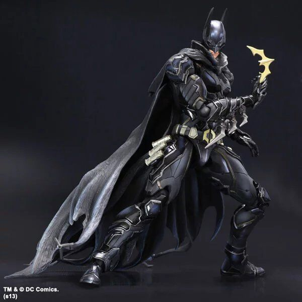 27cm Batman : Arkham Knight Special Blue Black Version Action Figure Model Toys