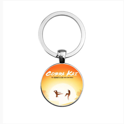 Image of cobra kai karate kid keychain Panther
