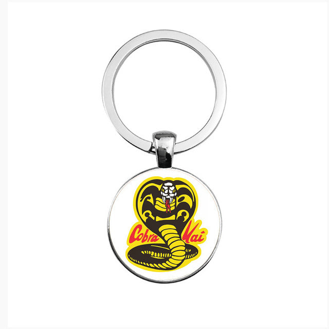 cobra kai karate kid keychain Panther