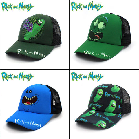 Image of Anime Rick and Morty  Baseball Cap Hat Cosplay