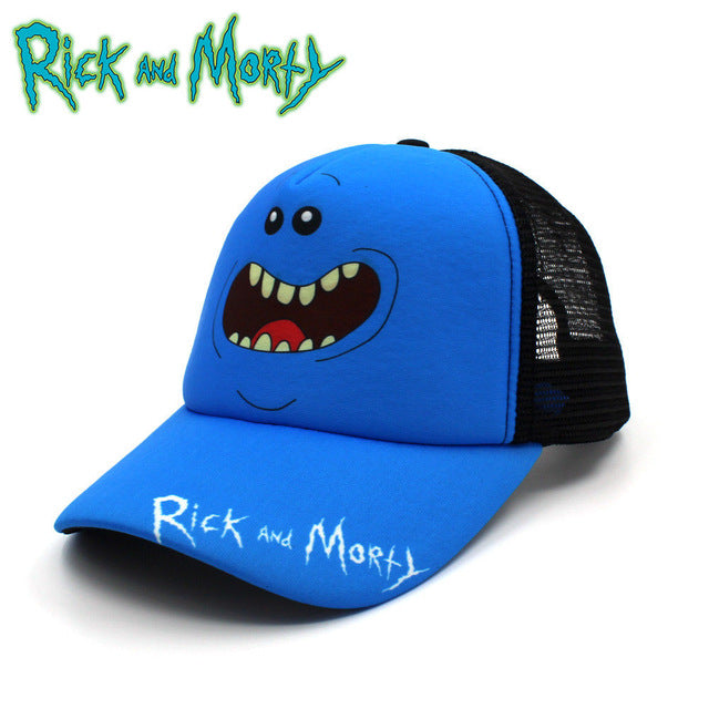 Anime Rick and Morty  Baseball Cap Hat Cosplay