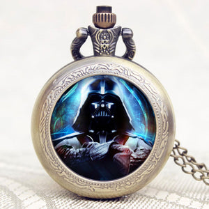 Star Wars Pocket Watch Necklace Pendant