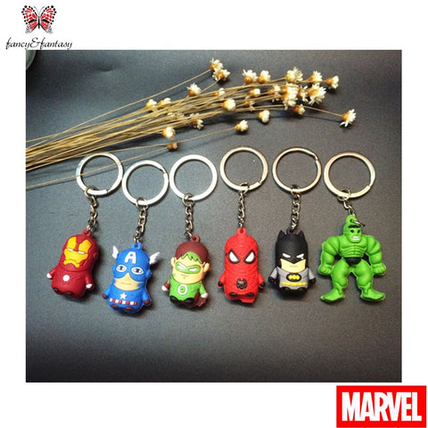 Image of Superheroes Keychain