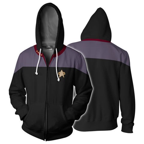 Image of Star Trek: Deep Space Nine Zip Up Hoodie