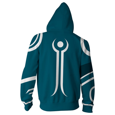 Image of Magic: The Gathering Jace Zip Up Hoodie