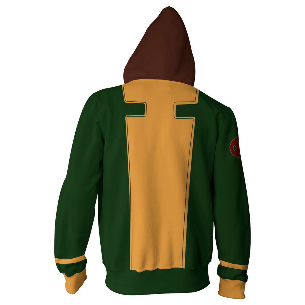 Rogue X-men Zip Up Hoodie