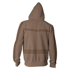 Star Wars Poe Dameron Zip Up Hoodie