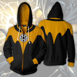 The Sinestro Corps Batman Zip Up Hoodie