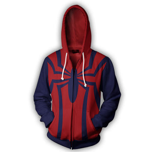 Spider-man 1996 Zip Up Hoodie