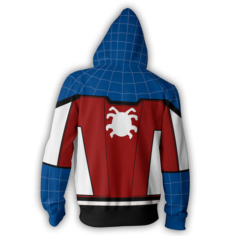 Image of Captain Spider Zip Up Hoodie