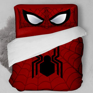 Spider-Man Red Bedding Set 3-4 Pcs/Set