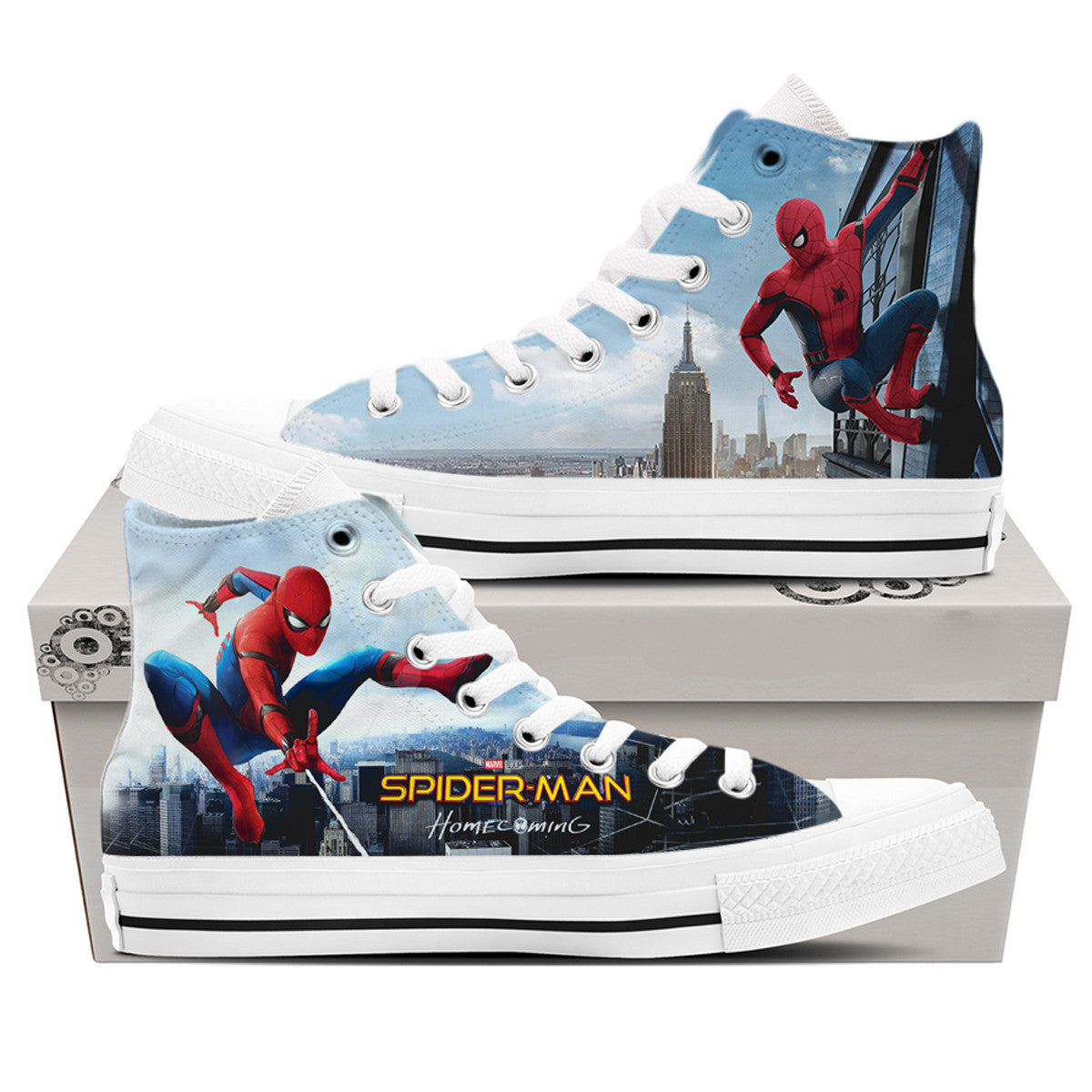 Spider-Man and City Shoes