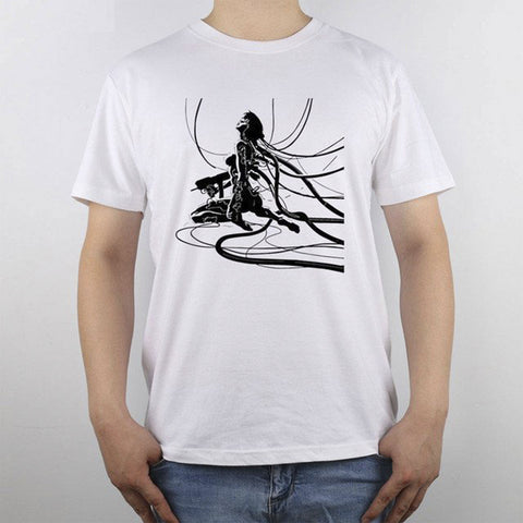 Ghost In The Shell t-shirt Top Pure Cotton Men T Shirt
