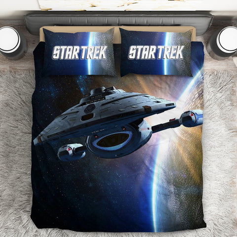 Image of Star Trek Spaceships Bed Set V3