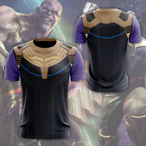 Image of Thanos Cosplay T-shirt US size