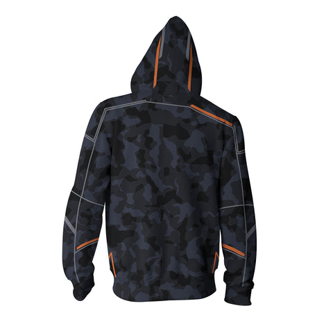 Image of Avengers: Infinity War Tony Stark Zip Up Hoodie