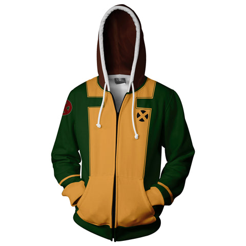 Image of Rogue X-men Zip Up Hoodie