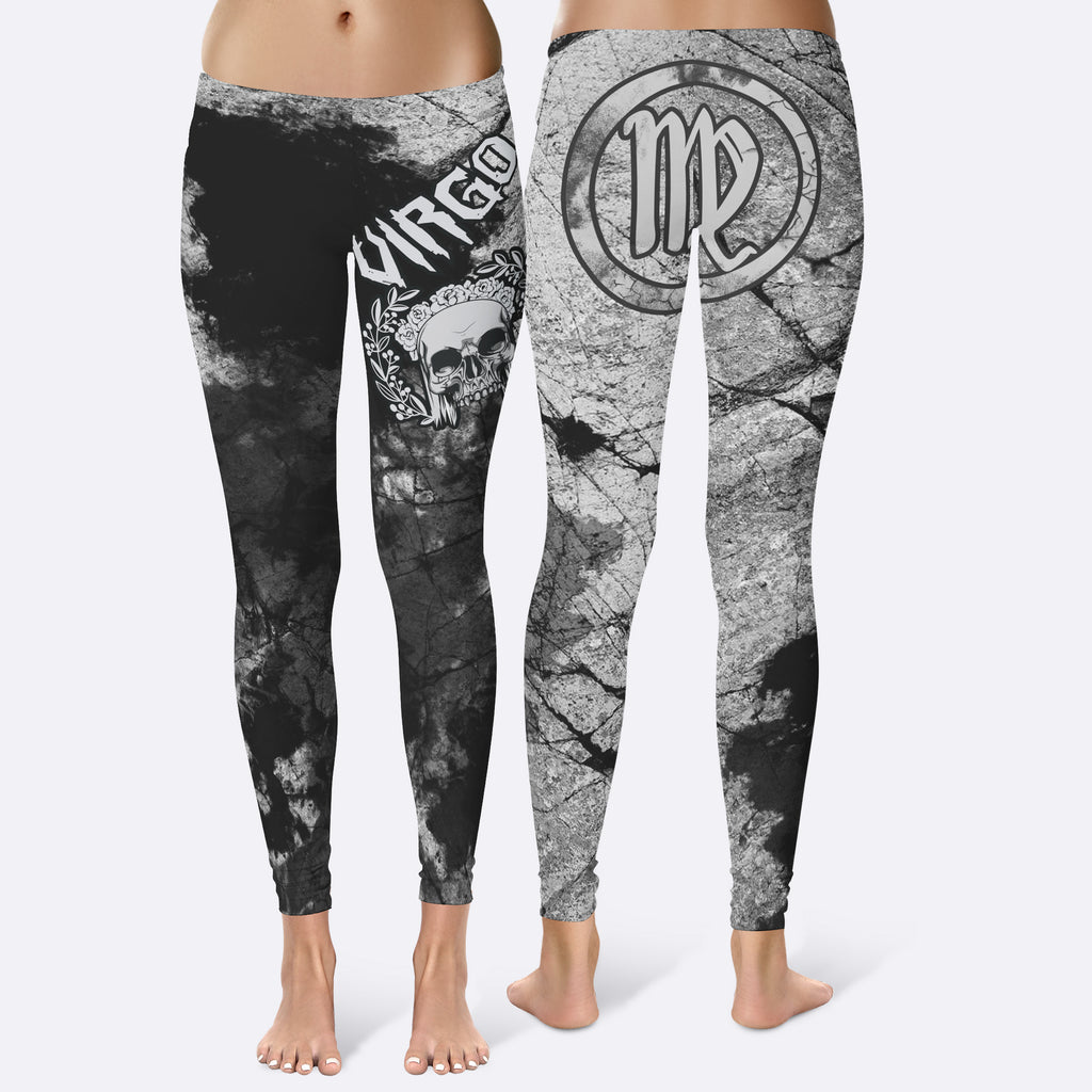 VIRGO - ZODIAC GREY Leggings
