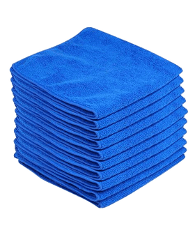 Monster Detail Large Blue Microfibre Buffing Cloths Microfibre cloths Monster Detail