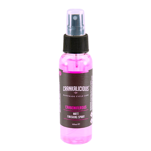 Crankalicious Carboniferous Matt Bike Finishing Spray Cycle care products Crankalicious 100ml