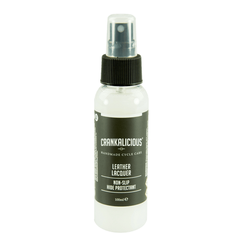 Crankalicious Leather Lacquer Non-Slip Hide Protectant 100ml Cycle care products Crankalicious