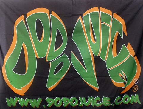 Dodo Juice Large Logo Banner Flag Accessories Dodo Juice