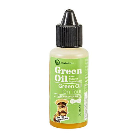 Green Oil On Tour Natural Bicycle Chain Lube 20ml Cycle care products Green Oil