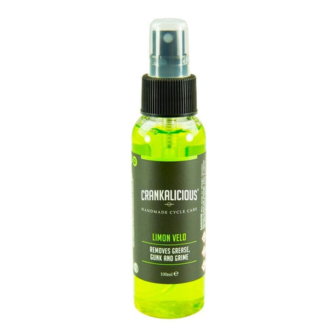 Crankalicious Limon Velo Bike Degreaser Spray Cycle care products Crankalicious 100ml