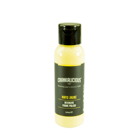 Crankalicious Mayo Jaune Bicycle Frame Polish 100ml Cycle care products Crankalicious