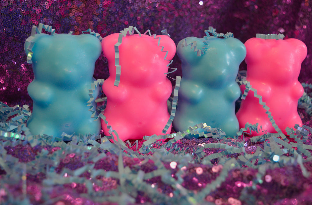 Fairy Sweets - Large Soap Gummy Bear Bar Singles/Sets