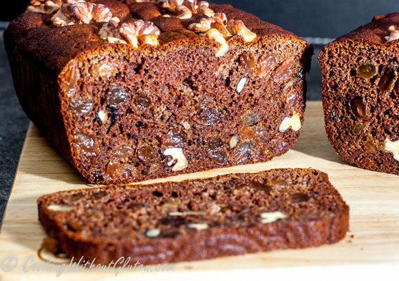 Bio-Oz Buckwheat Flour Sultana and Walnut Cake – Gluten and Dairy Free