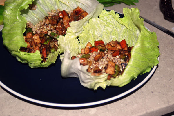 Bio-Oz San Choy Bow with Buckwheat Kernels (Gluten Free)