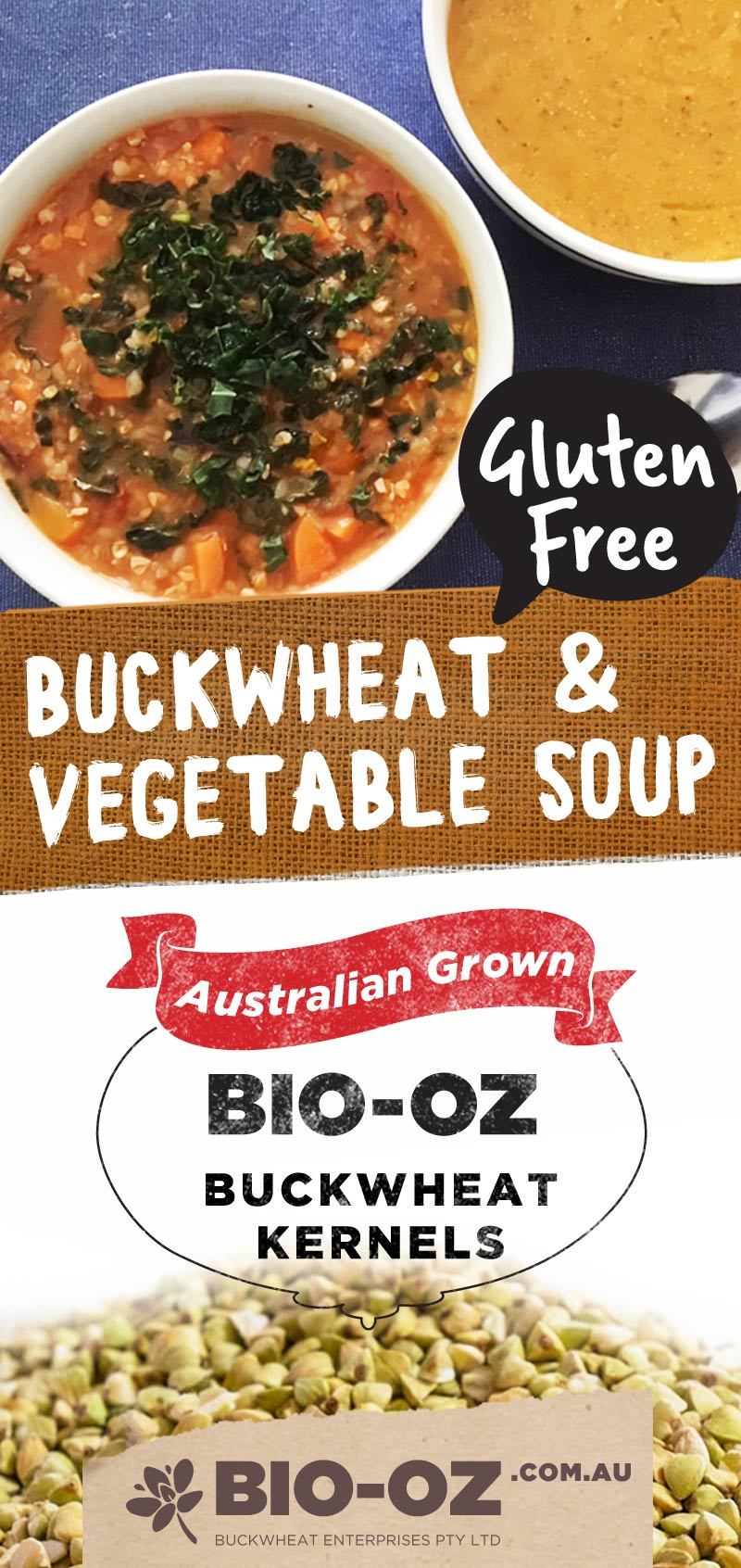 Bio-Oz  Buckwheat & Vegetable Soup