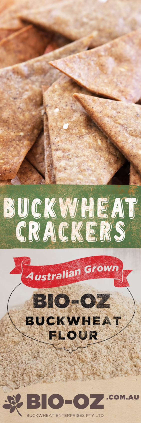Tasty Buckwheat Crackers