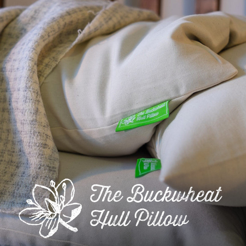Buckwheat Hull Pillows