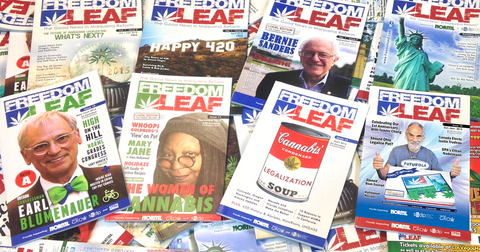 Freedom Leaf Magazine Two-Year Subscription (Quarterly)