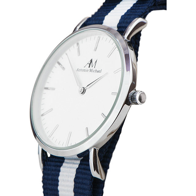 WOMEN'S CLASSIC WATCH-NAVY - Shop Angel Dust