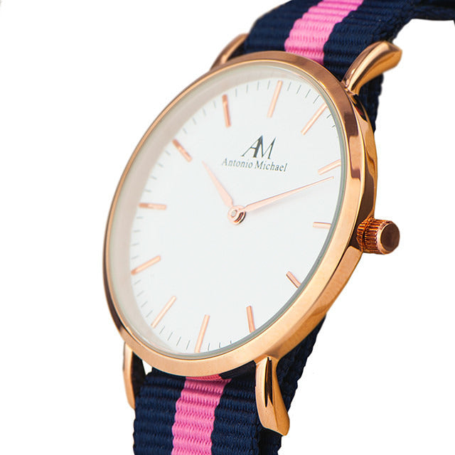 WOMEN'S CLASSIC WATCH-PINK - Shop Angel Dust
