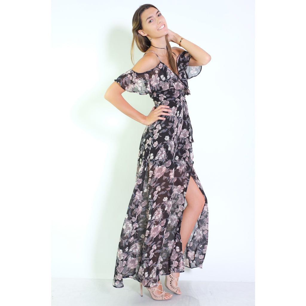 Staci Floral Dress - Shop Angel Dust