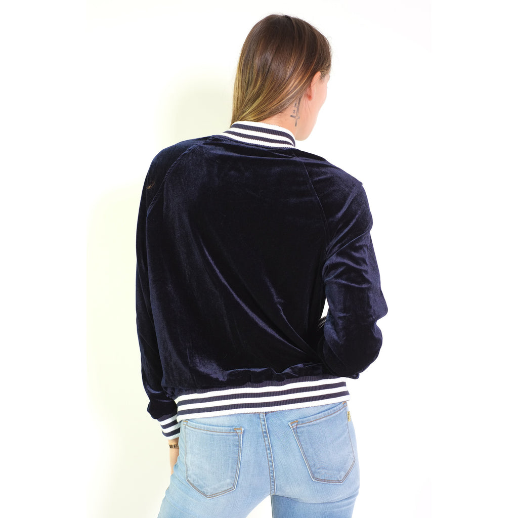 Velvet Bomber Jacket - Shop Angel Dust