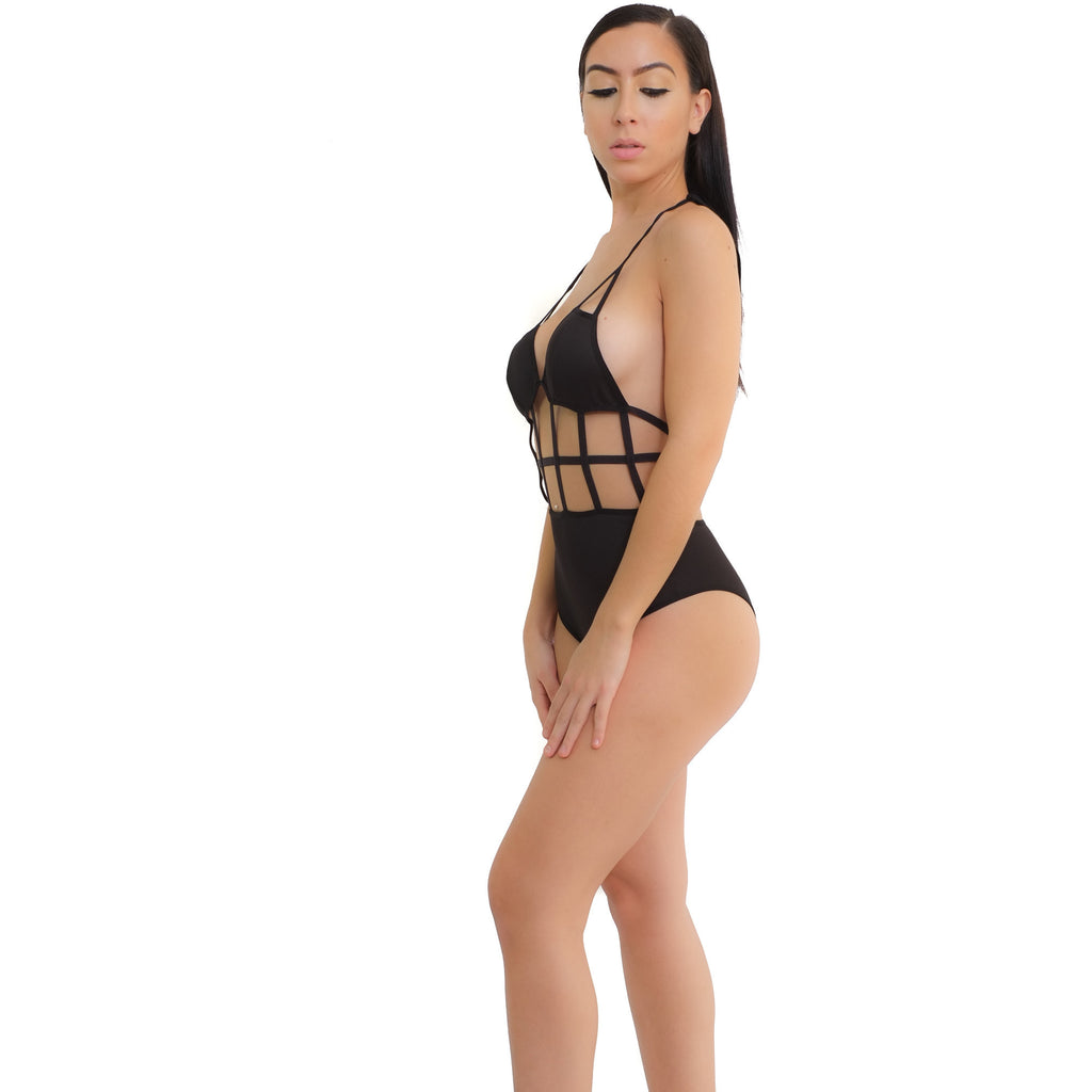 Caged Bodysuit - Shop Angel Dust